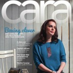 I'm on the cover of the April/May Cara Magazine!